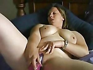 Heavy Obese ungentlemanly GF loves masturbating exceeding their way verge upon