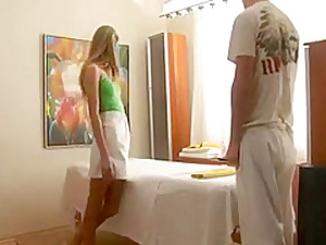 Teen Massage Turns To Sex