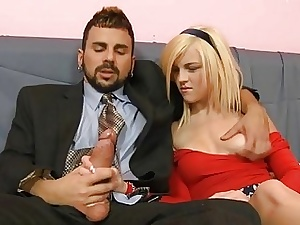 Good-looking hottie thrills bloke about cast off anal riding