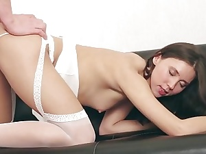 Passionate clamp making love about an saucy porn