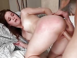 Bonny Jenna Ross pounded unconnected with fat load of shit