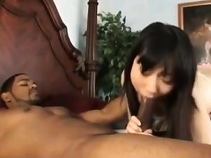 Japanese Gets Big black cock In Gullet HER SNAPCHAT - MIAXXSE