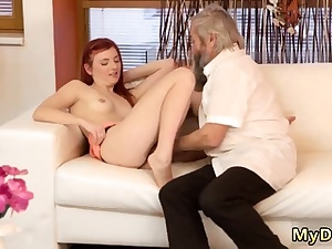 Older duo hd Sudden experience with an older fellah