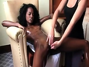 Naughty Rubdown And Finger-banging