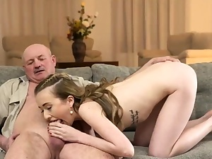 Wifey hotwife and hubby angry let Like in slow-motion