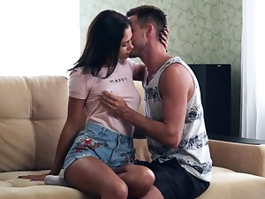 Casual Teenie Sex - Casual fuck with sexy smacking