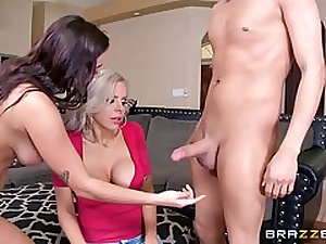 Nina Elle is a highly friendly mommy who enjoys to have sex with boy and dolls
