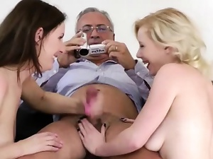 British babes ask pardon age-old person jizz